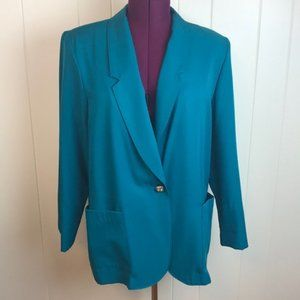 Vintage 80s/90s Oversized Single Button Blazer